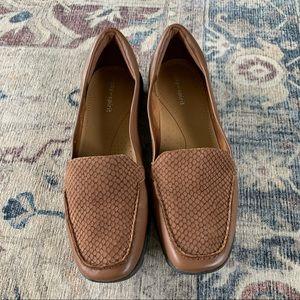 ❤️EASY SPIRIT❤️Leather SKIMMER Flat Loafers